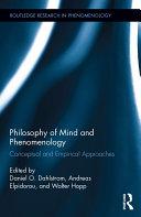 Philosophy of Mind and Phenomenology