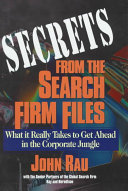 Secrets from the Search Firm Files