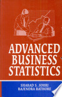 Advanced Business Statistics