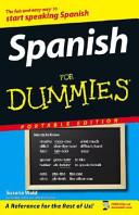 Spanish for Dummies  Portable Edition Wal mart Custom