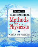 Essential Mathematical Methods for Physicists - Seite xix