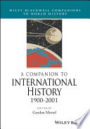 A Companion To International History 1900 2001