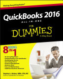 QuickBooks 2016 All in One For Dummies Book