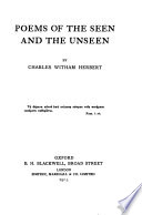 Poems of the Seen and the Unseen