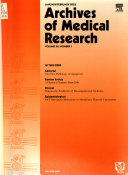 Archives Of Medical Research Book PDF