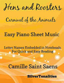 Hens and Roosters Carnival of the Animals Easy Piano Sheet Music [Pdf/ePub] eBook