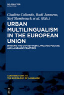Pdf Urban Multilingualism in Europe Telecharger