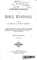 NOTES AND SUGGESTIONS FOR BIBLE READINGS