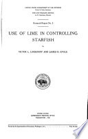 Use of Lime in Controlling Starfish