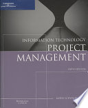Information Technology Project Management, Reprint