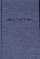 Psychology and Logic