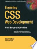 Beginning CSS Web Development