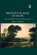 Milton's Places of Hope [Pdf/ePub] eBook