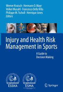 Injury And Health Risk Management In Sports Book PDF