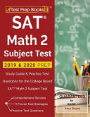 SAT Math 2 Subject Test 2019   2020 Prep