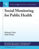 Social Monitoring for Public Health Pdf/ePub eBook