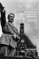 The British Press and Nazi Germany Pdf/ePub eBook