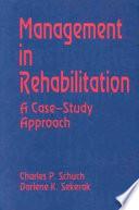 Management in Rehabilitation