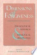 Dimensions Of Forgiveness