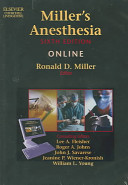 Miller's Anesthesia Online