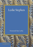 Leslie Stephen