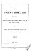 The Foreign Missionary
