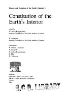 Constitution of the Earth s Interior