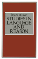 Studies in Language and Reason