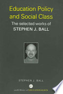 Education Policy and Social Class Book PDF