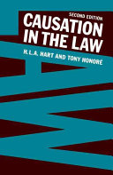 Causation in the Law