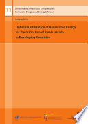 Optimum Utilization Of Renewable Energy For Electrification Of Small Islands In Developing Countries Book PDF