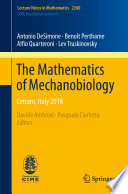 The Mathematics of Mechanobiology