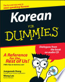 List of Dummies Korean Language E-book