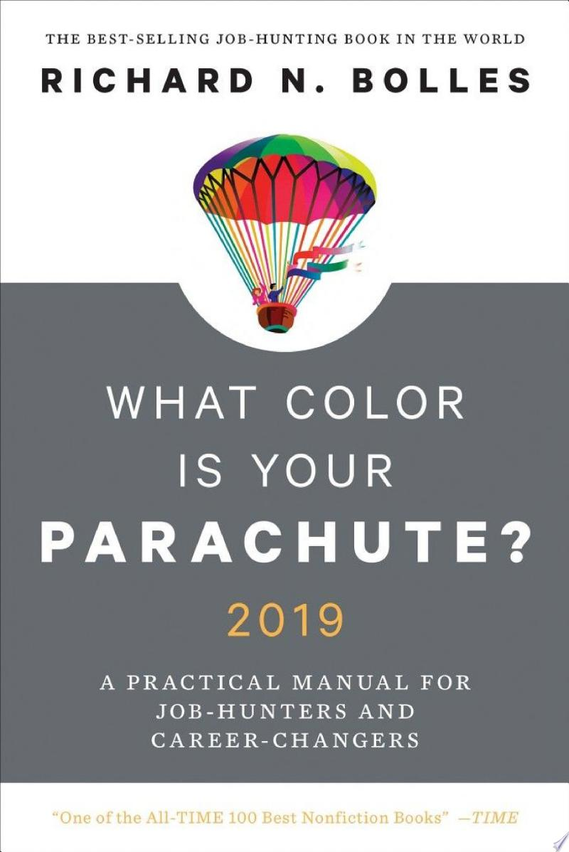 What Color Is Your Parachute? 2019 banner backdrop