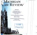 Pdf Michigan Law Review