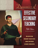 Dynamics of Effective Secondary Teaching