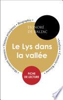 Fiche de lecture Le Lys dans la vallée (Étude intégrale)