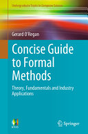 Concise Guide to Formal Methods Pdf/ePub eBook