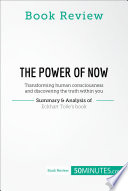 Book Review: The Power of Now by Eckhart Tolle