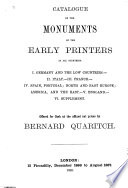 A General Catalogue of Books  Offered to the Public at Affixed Prices