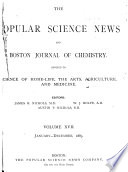 The Popular Science News and Boston Journal of Chemistry Book
