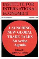 Launching New Global Trade Talks