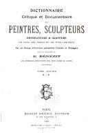 Pdf Dictionnaire Critique Et Documentaire Des Peintres, Sculpteurs, Dessinateurs & Graveurs de Tous Les Temps Et de Tous Les Pays: D-K