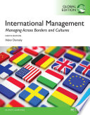 International management managing across borders and cultures : text and cases