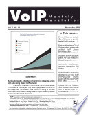 VoIP Monthly Newsletter November 2009