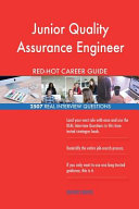 Junior Quality Assurance Engineer Red Hot Career  2507 Real Interview Questions