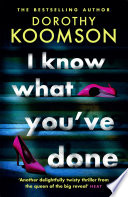 I Know What You ve Done Book