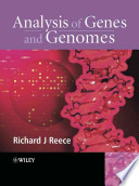 Analysis of Genes and Genomes