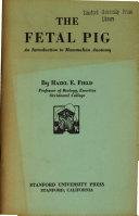 The Fetal Pig