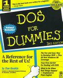 Cover of DOS For Dummies